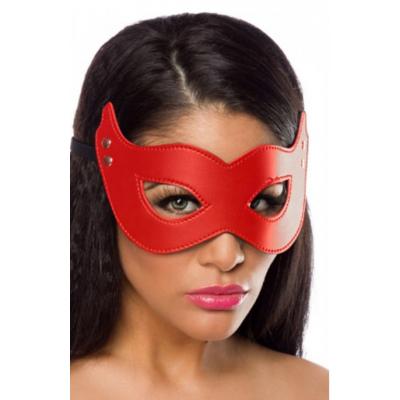 Fetişh Kırmızı Fantezi Maskesi