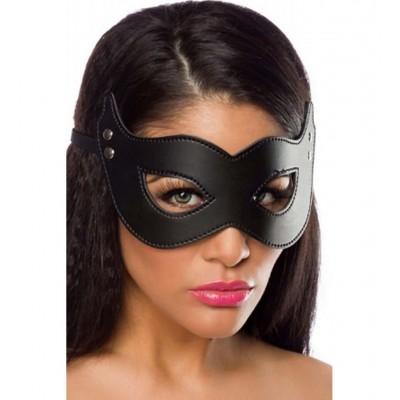 Fetişh Siyah Fantezi Maskesi