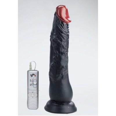 20,3 cm kaliteli zenci realistik vibratör
