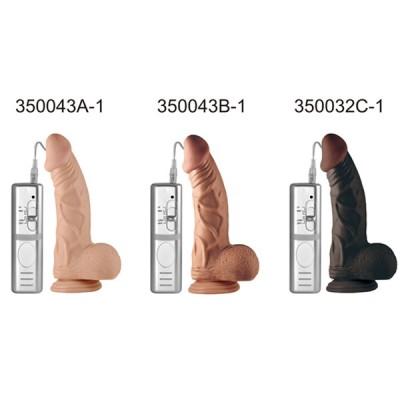 23 CM Hafif Eğri Süper Realistik Vibratör