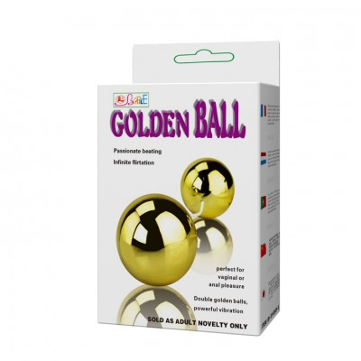 GOLDEN BALL TİTREŞİM TOPLARI